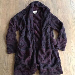 Hinge Chunky Knit Cardigan